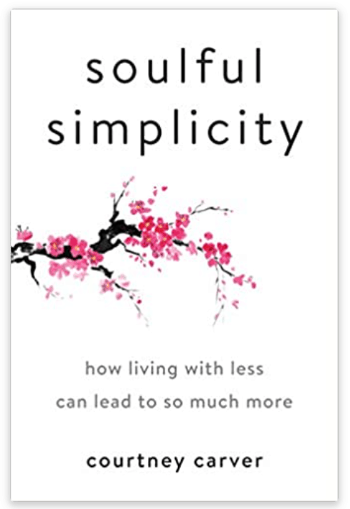A book that will teach you that less is more and help you declutter your life.