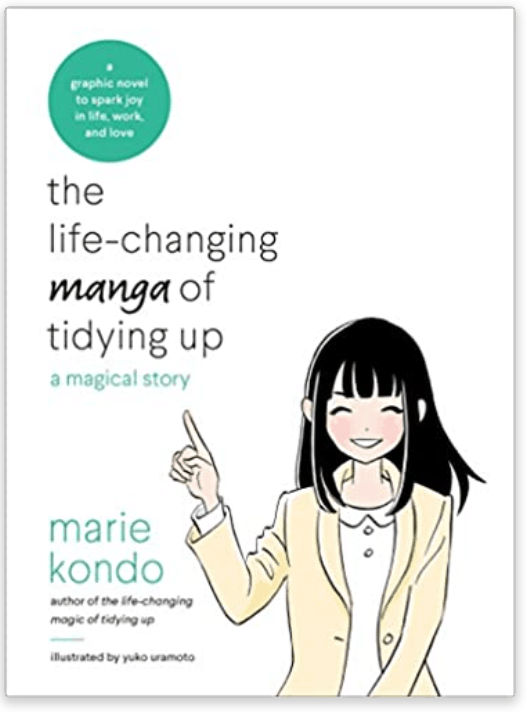A book that will help you tidy up and declutter your home.