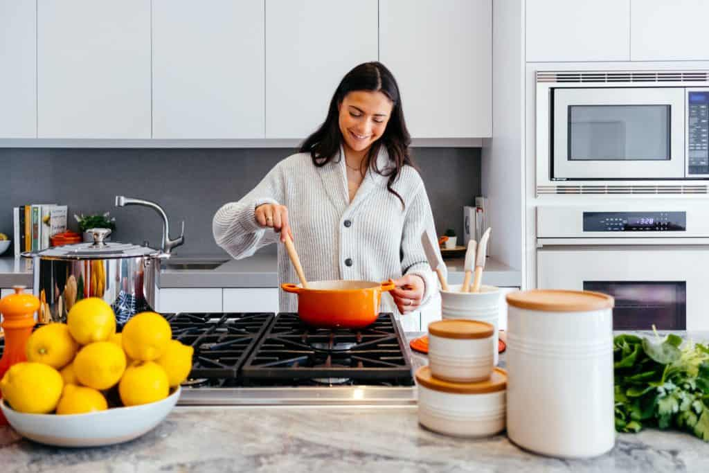 Cook your own meals as this is the perfect form of self love!